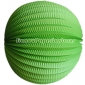 "12"" Grass Green Accordion Paper Lanterns"