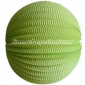 "12"" Light Lime Accordion Paper Lanterns"