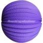 "20"" Purple Accordion Paper Lanterns"