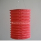 Pink Cylinder Accordion Paper Lanterns