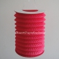 Fuchsia Cylinder Accordion Paper Lanterns