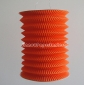 Orange Cylinder Accordion Paper Lanterns
