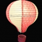 "12"" Fuchsia with white dot Air Balloon Paper Lanterns(100 of ca"