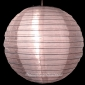 "12"" Pink Sari Fabric double lanterns"