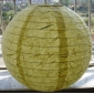 "12""&16""Light Yellow handmade paper lantern"