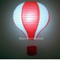 "12""Red with White Air Balloon Paper Lanterns"