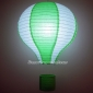 "12"" Grass with White Air Balloon Paper Lanterns"
