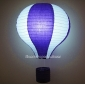 "12"" Purple with White Air Balloon Paper Lanterns"
