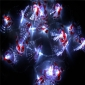 Santa Claus Flash 20 Led String Lights