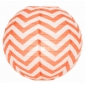 "12"" Coral wave lines Paper Lanterns wholesale ( 150 of case)"