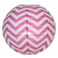 "12"" Fuchsia wave lines Paper Lanterns wholesale ( 150 of case)"