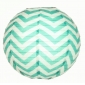 "12"" Robin-Egg wave lines(Chevron) Paper Lanterns"