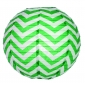 "12"" Grass wave lines(Chevron) Paper Lanterns"