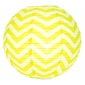 "12"" Yellow wave lines(Chevron) Paper Lanterns"