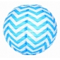 "12"" Turquoise wave lines Paper Lanterns wholesale ( 150 of case"
