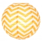 "12"" Orange wave lines(Chevron) Paper Lanterns"