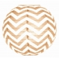"12"" Brown wave lines(Chevron) Paper Lanterns"