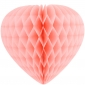 "12"" Paper Honeycomb Heart-Pink"