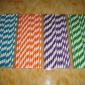 Wholesale Stripe Paper Straws(120bags)