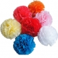 "14"" Paper Pom Pom large Wholesale For trade with Distribution"