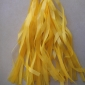 Yellow Paper Tassel (set of 5)