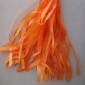 Orange Paper Tassel (set of 5)