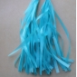 Teal Paper Tassel (set of 5)