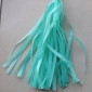 Water Blue Paper Tassel (set of 5)