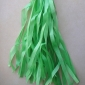 Grass Green Paper Tassel (set of 5)