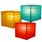 "Wholesale 12"" Square bamboo ribs Paper Lanterns (50 of case)"