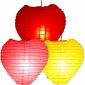 Wholesale Heart Paper Lanterns(100 of case)