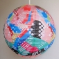 "14"" Multicolor with dot Origami Floral Paper Lantern"