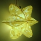 6 Point Leaves Paper Lantern-yellow