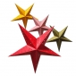 "24"" Solid paper Star Lamp Wholesale (100 of case)"
