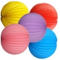 "8""Accordion Paper Lanterns wholesale (bulk 250 of case)"