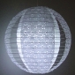 "16"" Missing pieces lace paper lantern(60 of case)"