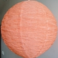 "12"" Diy changing shapes paper lantern-Peach"