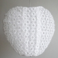 Heart cricle lace fabric Lantern