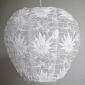 Heart floral lace fabric Lantern