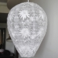 Egg Floral lace fabric Lantern