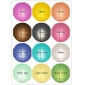 "8"" 12colors Uneven Ribs Paper Lantern Wholesale(240 of case)"
