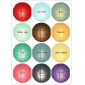 "24"" 12colors Uneven Ribs Paper Lantern Wholesale( 60 of case)"