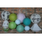 Nature Paper Lantern set decor(11 of pack)