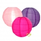 "19 Colors mixed 10"" Irregular silk lanterns(114 pcs)"