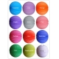 "8"" 12colors mixed Accordion Paper Lanterns(12pcs)"
