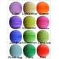 "12"" 12colors Accordion Paper Lanterns (12pcs)"