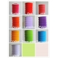 10colors Cylinder Accordion Paper Lanterns(10pcs)