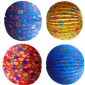 "4 designs 12"" Accordion Paper Lanterns (12pcs)"