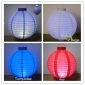 "10"" 4 colors LED Round Paper Battery Lantern"
