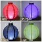 "14"" 4 colors 12 LED Round Paper Battery Lantern"